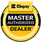 Clopay Master Authorized Dealer Logo